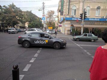 Оклейка корпоративного транспорта для Uklon