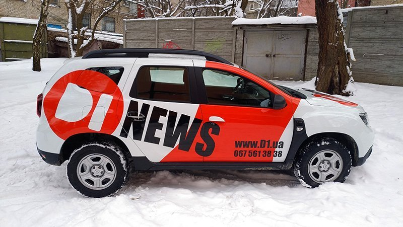 Поклейка авто DI News