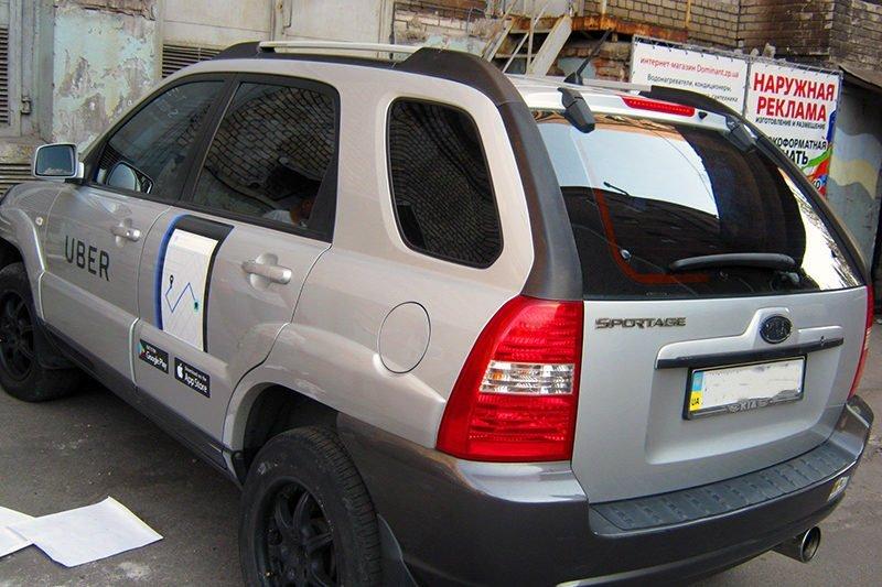 brendirovanie avto uber kia revolt