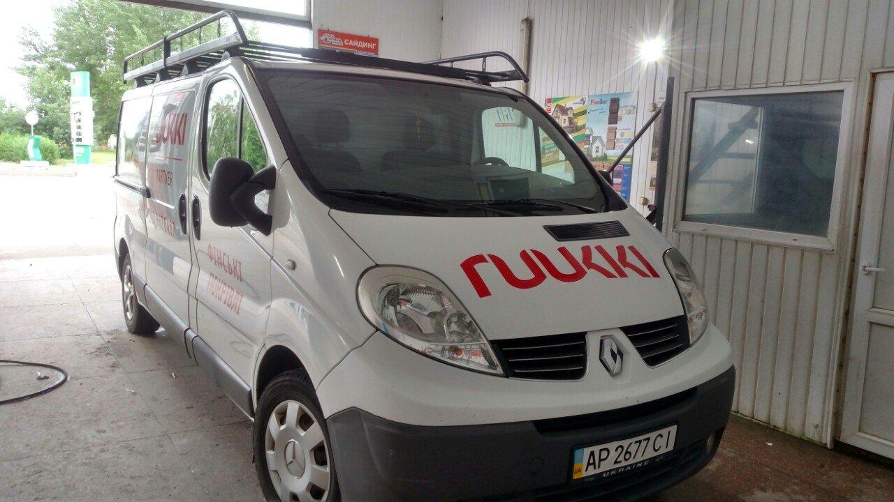 Брендирование транспорта для компании Ruukki
